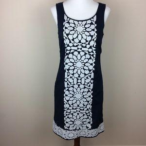 Vineyard Vines Embroidered Shift Dress Size 2
